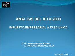 Diapositiva 1 - Almanza Torres y Asociados, S. C.