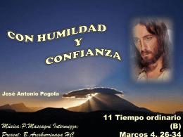 Con humildad y confianza