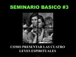 SEMINARIO BASICO #3 - EDULINE