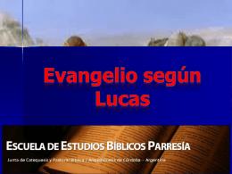 Evangelio de Lucas