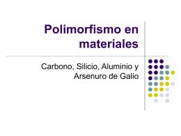 Polimorfismo en materiales