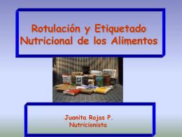 Que es el Etiquetado Nutricional de los Alimentos?