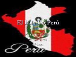 El Pais De Peru