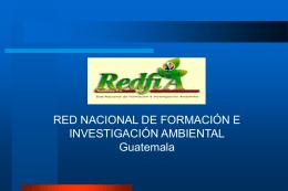 RED NACIONAL DE INVESTIGACION AMBIENTAL