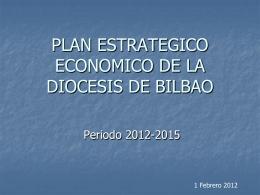 PLAN ESTRATEGICO ECONOMICO DE LA DIOCESIS DE …