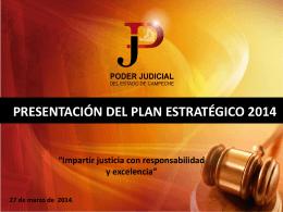 Diapositiva 1 - Poder Judicial del Estado de Campeche