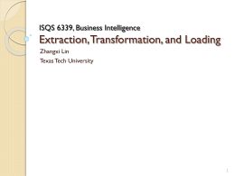 Data mining - Texas Tech University