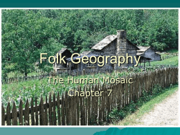 Folk Geography - Home | The University of Texas at Austin