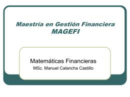 Matematicas Financieras Manuel Calancha Castillo