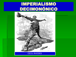 IMPERIALISMO COLONIAL ( 1885 – 1914 )