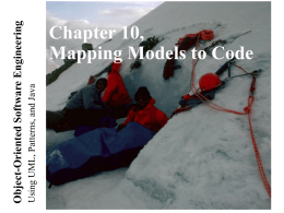 Lecture for Chapter 10, Mapping Models To Code