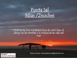 Punta Sal 3dias /2noches