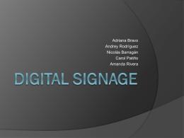 DIGITAL SIGNAGE - SistemasInfoJave