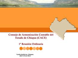 Diapositiva 1 - ..::CACE Chiapas::..