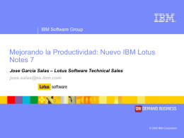 A closer look into IBM Lotus Notes and the Lotus Domino