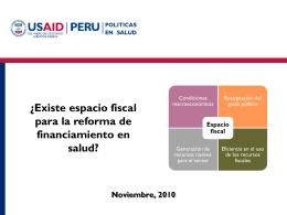 Diapositiva 1 - .: MINSA :. - Ministerio de Salud del Per&#250