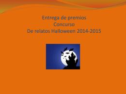 Viernes 11:45 entrega de premios Concurso halloween 2011