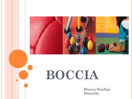 BOCCIA - EIFODEC