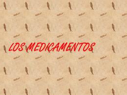 LOS MEDICAMENTOS