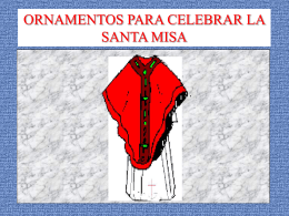 Ornamentos de la Misa - Padre Nuestro