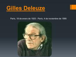 Giles Deleuze