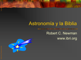Astronomy & the Bible