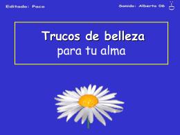 TRUCOS DE BELLEZA