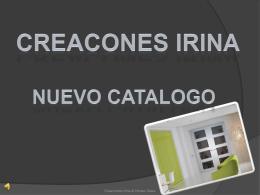 Diapositiva 1 - pagina creacionesirina