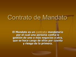 Contrato de Mandato - eListas.Net, Servicios de Listas de