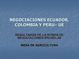 Agricultura por Contrato: la Experiencia de Ecuador