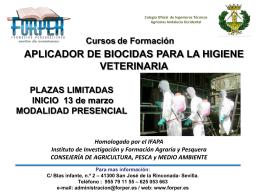 CURSO BIENESTAR ANIMAL EN EL TRANSPORTE