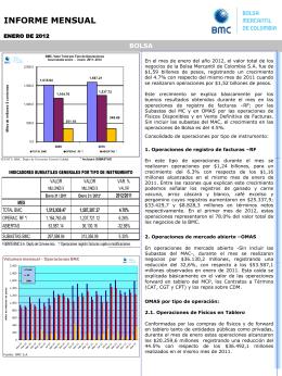Diapositiva 1 - Bolsa Mercantil de Colombia | La