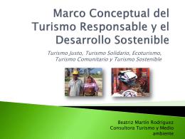 Marco Conceptual del Turismo Responsable