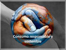 Consumo responsable y sostenible