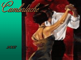 Cambalache Tango