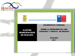 Diapositiva 1 - ILUSTRE MUNICIPALIDAD DE HUALQUI