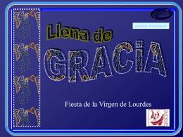 Llena de Gracia.