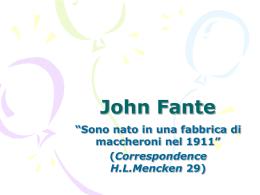John Fante