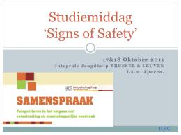 Signs of Safety en Huiselijk Geweld
