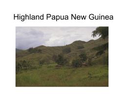 Highland Papua New Guinea