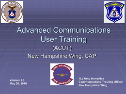 CAP Basic Communications Users Class