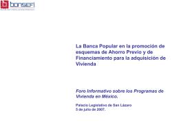 ANTECEDENTES DE LAS CAJAS POPULARES EN MEXICO