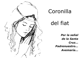 Coronilla del Fiat