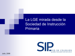 SIP RED DE COLEGIOS - Comunidad Virtual de …