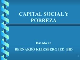BID - ETICA Y DESARROLLO / Kliksberg, Bernardo