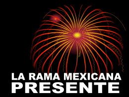 LA RAMA MEXICANA