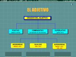 EL ADJETIVO - losdelatin