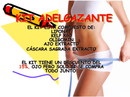 KIT ADELGAZANTE - Funat productos naturales Colombia