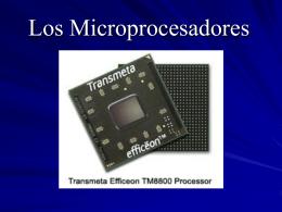 Los Microprocesadores