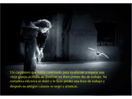מצגת של PowerPoint - Conciencia de Ser
